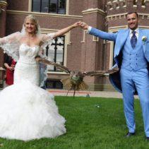 Prachtige trouwclip ontvangen van Jeffrey & Alyona
